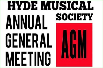 Hyde Musical Society AGM