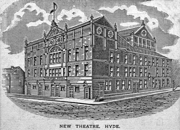 Hyde Festival Theatre, former home of Hyde Musical Society