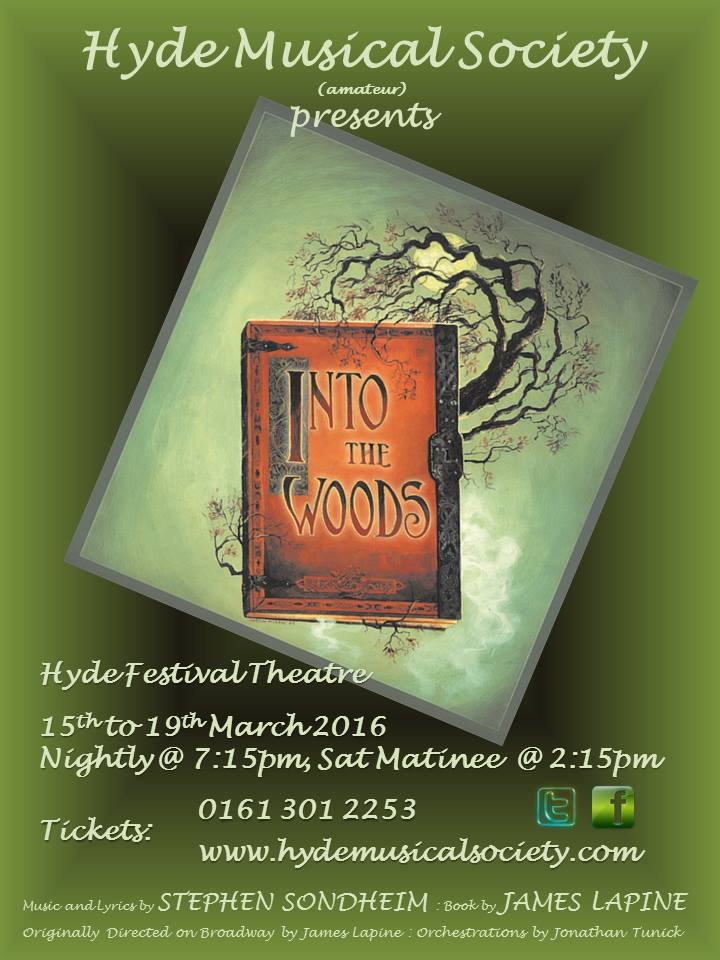 Hyde Musical Society - Into the Woods poster