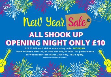 GET ALL SHOOK UP WITH OUR NEW YEAR SALE